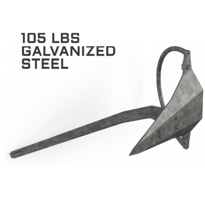 Mantus 105LBS Galvanized Anchor