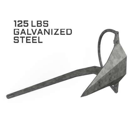 Mantus 125LBS Galvanized Anchor