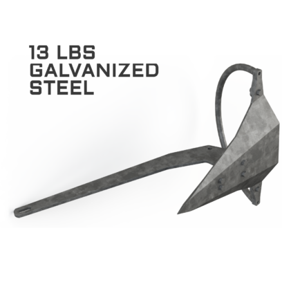 Mantus 13LBS Galvanized Anchor