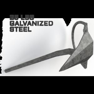 Mantus 25LBS Galvanized Anchor