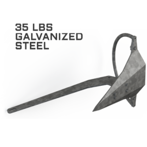 Mantus 35LBS Galvanized Anchor