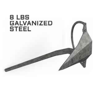 Mantus 8LBS Galvanized Anchor