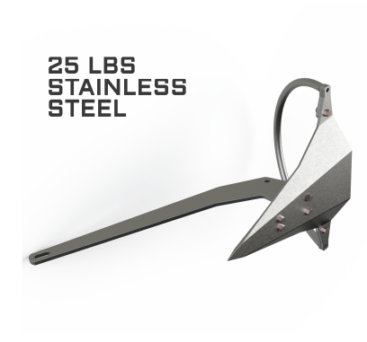 Mantus 25LBS Stainless Steel Anchor