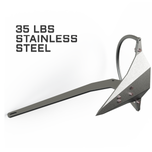 Mantus 35LBS Stainless Steel Anchor