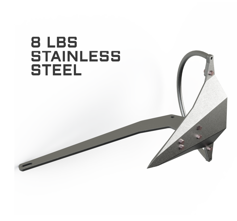 Mantus 8LBS Stainless Steel Anchor