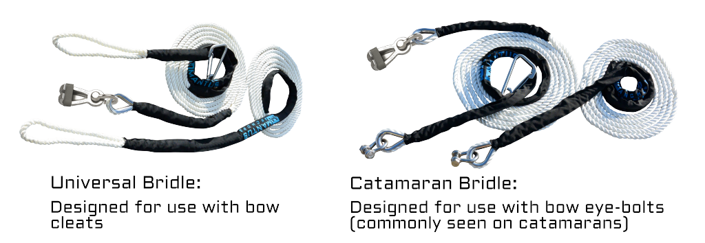 Mantus Universal and Catamaran Bridles