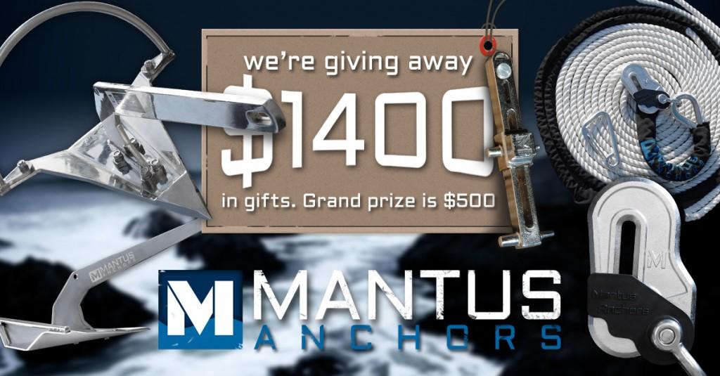 Mantus Anchors Holiday Give-Away
