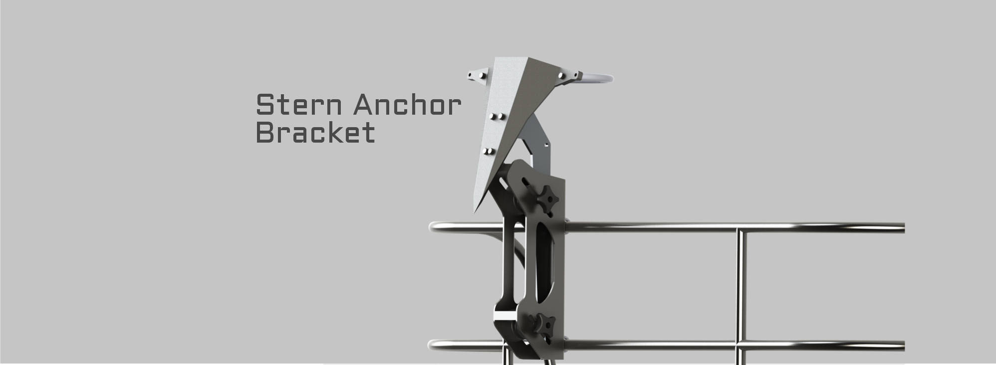 SLIDER IMAGE ONE SIDE VIEW ANCHOR BRACKET