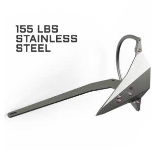 Mantus 155LBS Stainless Steel Anchor