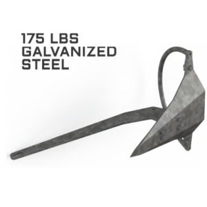 Mantus 175LBS Galvanized Anchor