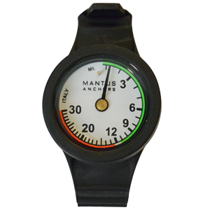 Mantus Marine Wrist Depth Gauge