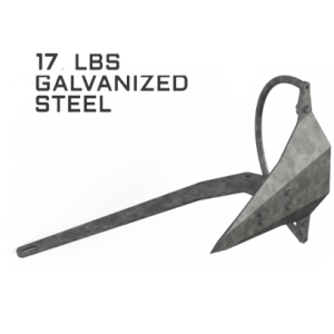 Mantus 17LBS Galvanized Anchor