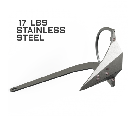 Mantus 17LBS Stainless Steel Anchor