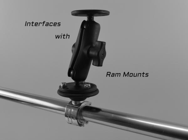 ss clamp Ram Mount for slider