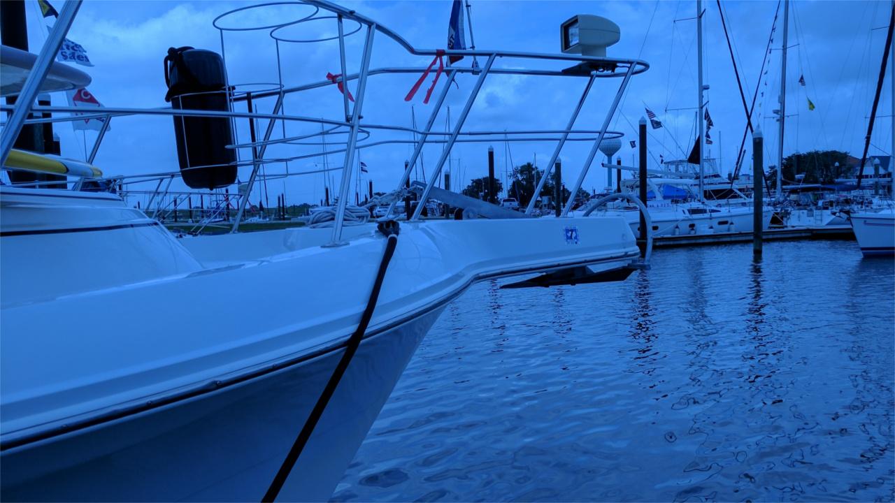 Mantus Anchor on Bow Sprit 11