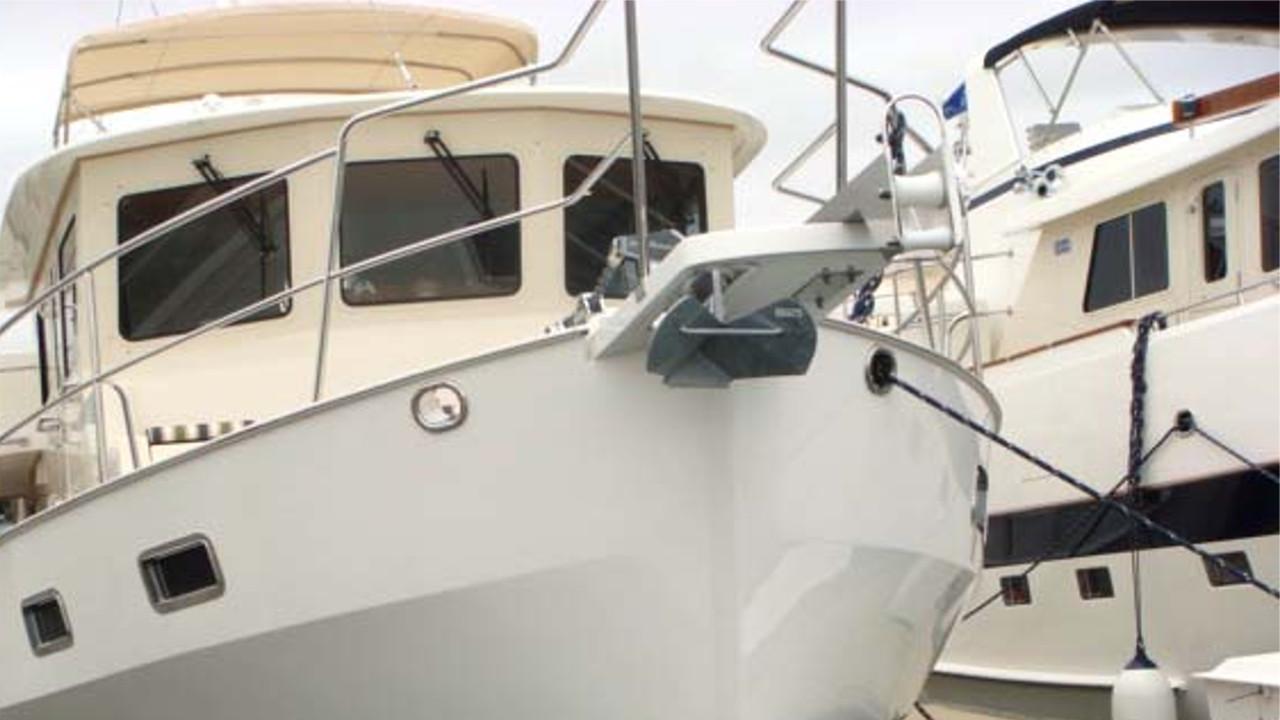 Mantus Anchor on BowPulpit 9
