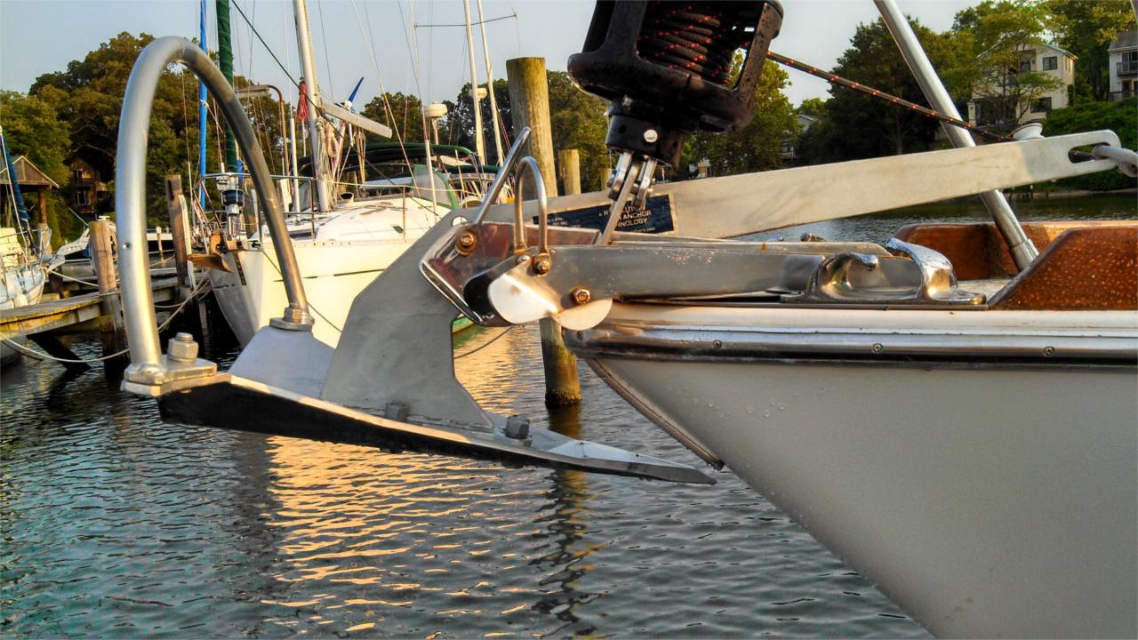 Mantus Anchor on Gulfstar 44