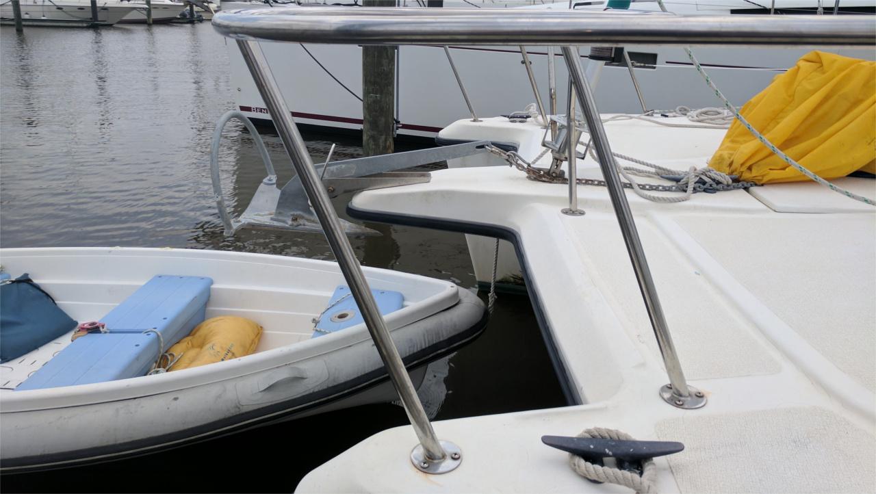 Mantus on PDQ Catamaran