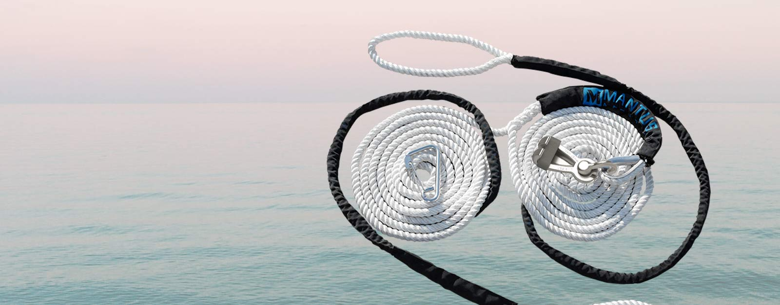 Mantus Monohull Monohull Bridle with M2 Chain Hook