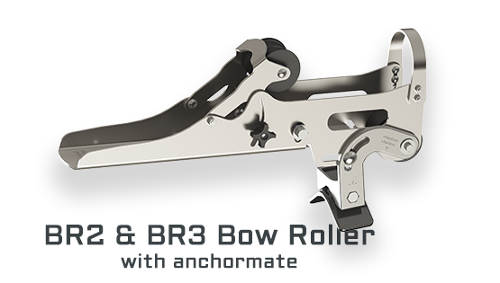BR2- BR3 Bow Roller with Anchor Mate
