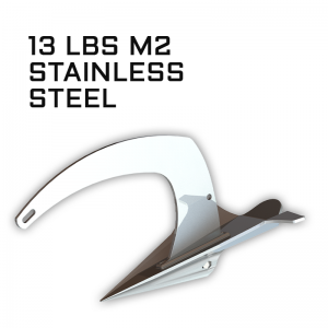 M2 Mantus Anchor Stainless Steel 13lbs Thumbnail